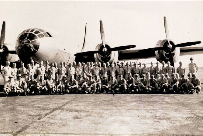 part of the 500th Bomb Group, 1944