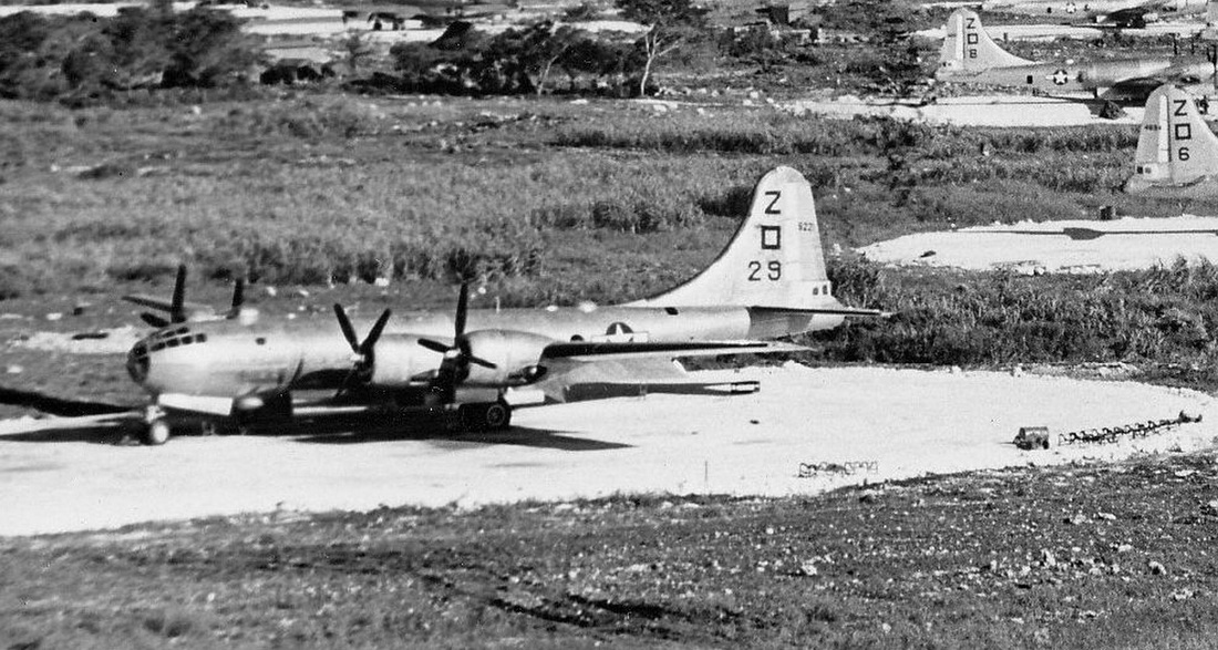 500th BG Planes on Saipan Zoom 3