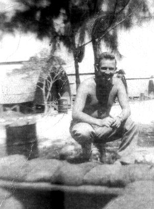 Hap Halloran on Saipan '44