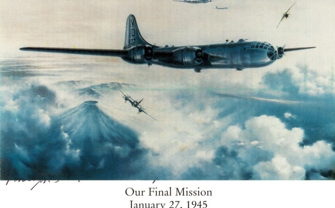 Hap's final combat mission 27 Jan 1945