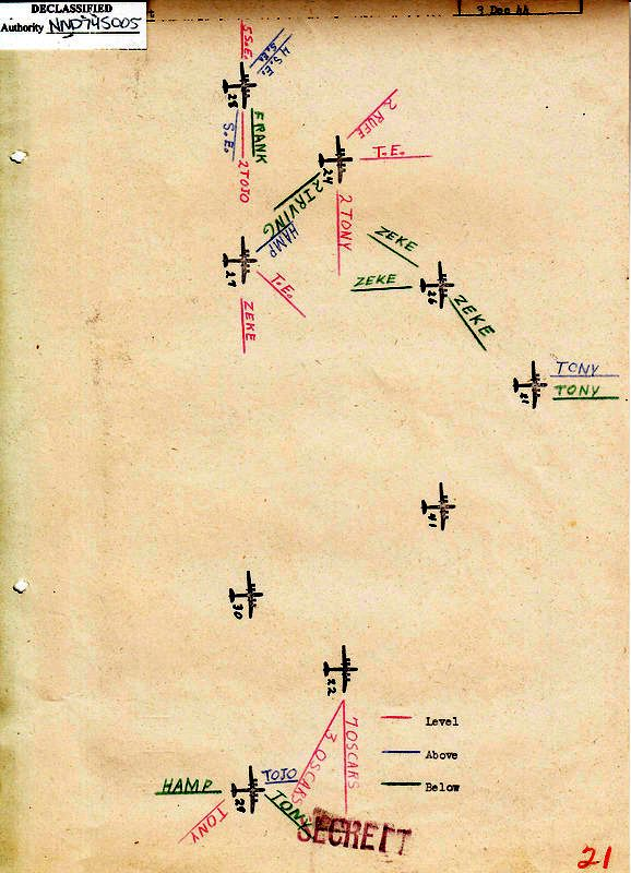 Consolidated Mission Report for the 497th Bomb Group for the 3 Dec 44 mission to Musashino
